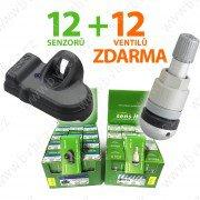 AK�N� Set 12TPMS senzor� Sens.it +12ventil� ZDARMA