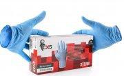 STERN jednorázové pracovní rukavice NITRILOVÉ balení po 100ks  CXS