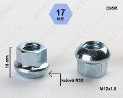 Matice M12x1,5 koule otevřená