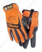 9574O-oranžové pracovní rukavice BETA vel.L/XL/2XL