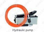 PUMPA 700 pneumatická (pedálová) hydraulická