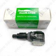 AL-15 Sens.it ONE-Černý senzor tlaku v pneu s ALU ventilem 434/315Mhz ALLIGATOR
