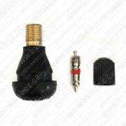 TR412OEM- DEMONT L-33mm ventil bezdušový pro osobní/moto disk pr.11,5mm, max.4,5bar