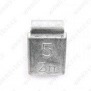 84U-Zink 05g Zn vyvažovací závaží osobní ocel disk-nelakované PERFECT