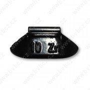 84B-Černá 10g Zn vyvažovací závaží osobní ocel disk-lakované PERFECT