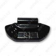 84B-Černá 15g Zn vyvažovací závaží osobní ocel disk-lakované PERFECT