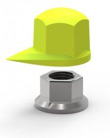 DT32mm Dustite indikátor povolení matice dolní CHECKPOINT