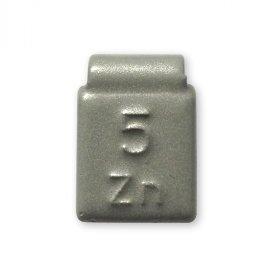 84-Šedá 05g Zn vyvažovací závaží osobní ocel disk-lakované PERFECT