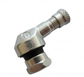 SM-08 pr.8,3mm ALU ventil bezdušový moto-stříbrný