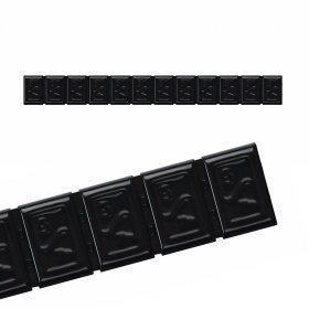 380H-ČERNÁ 60g Zn(12x5g) samolepící závaží pro alu disky HOFMANN