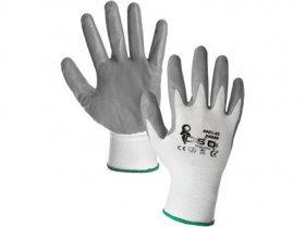 ABRAK pracovní rukavice povrstvné v Nitrilonu