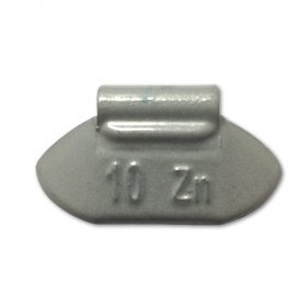 84-Šedá 10g Zn vyvažovací závaží osobní ocel disk-lakované PERFECT