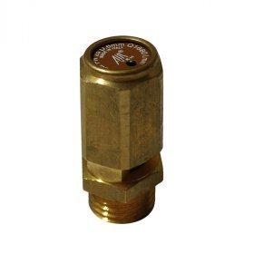 """Pojistný ventil  pro tlakové nádoby ,zvedáky závit vnější 1/4"""" max. tlak-9bar"""
