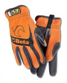 9574O-oranžové pracovní rukavice BETA