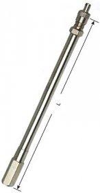 2424 kovové ventilové prodloužení MEXL115 L-125mm