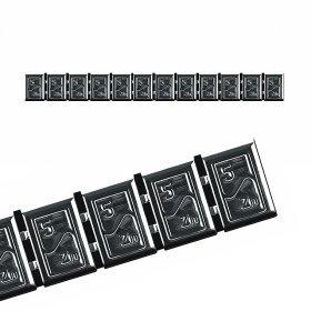 380H-BOX6ks- CHROM 60g Zn(12x5g) samolepící závaží