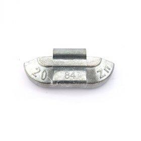 84U-Zink 20g Zn vyvažovací závaží osobní ocel disk-nelakované PERFECT