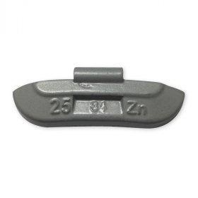 84-Šedá 25g Zn vyvažovací závaží osobní ocel disk-lakované PERFECT