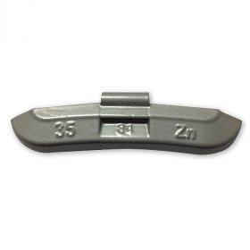 84-Šedá 35g Zn vyvažovací závaží osobní ocel disk-lakované PERFECT