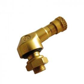 SM-03 pr.8,3mm ALU ventil bezdušový moto- zlatý