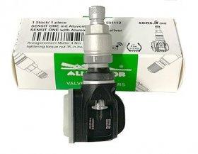 AL-14 Sens.it ONE-Stříbrný senzor tlaku v pneu s ALU ventilem 434/315Mhz ALLIGATOR