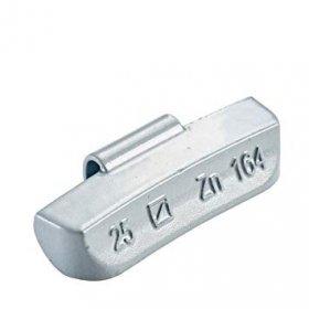 164H 80g Zn vyvažovací závaží pro ocelový disk dodávkové OEM do 4,5t  HOFMANN