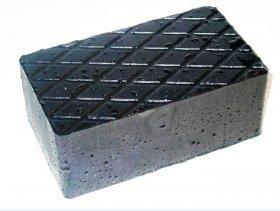 G2 gumová podložka výsoká  160 x 70 x 120mm