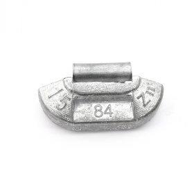 84U-Zink 15g Zn vyvažovací závaží osobní ocel disk-nelakované PERFECT
