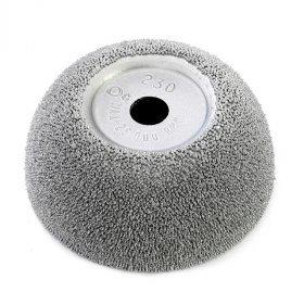 B166 pr.65-25mm HR230 stříbrný brusný kotouč RH109