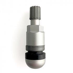 523MSA-Šedý Alu-Elox ventil bezdušový pro osobní ALU/ocel disk pr.11,5mm
