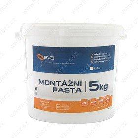 MP5kg-bílá montážní pasta na pneu moto,osobní,nákladní