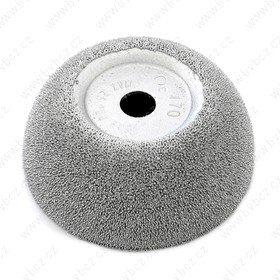 B165 pr.65-25mm HR170 stříbrný brusný kotouč RH107