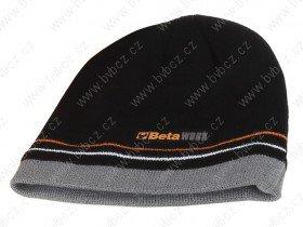 7981 T-vlněná čepice černa pracovní BETA