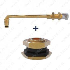 TRJ-4000-03 ventil bezdušový pro pneumatiky EM,stavební pr.20,5mm