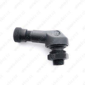 SM-01 pr.8,3mm ALU ventil bezdušový moto -černý