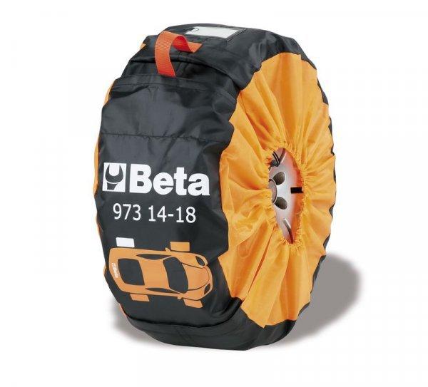 """973-14""""-18"""" Sada 4ks nylonovích chrániču kol  BETA"""