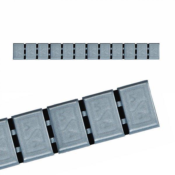 380H-ŠEDÁ 60g Zn (12x5g) samolepící závaží pro alu disky  HOFMANN