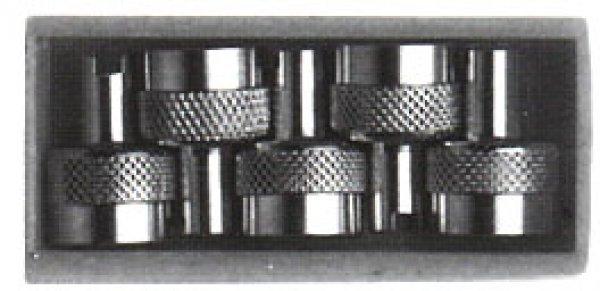 V66 sada 5ks kovové čepičeky GP3-04