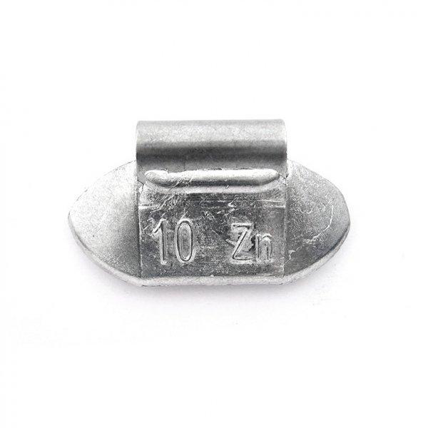 84U-Zink 10g Zn vyvažovací závaží osobní ocel disk-nelakované PERFECT