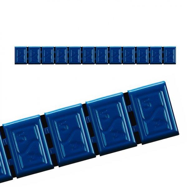 380H-BOX6ks- MODRÁ 60g Zn(12x5g) samolepící závaží