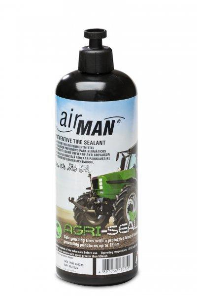 AM-1000ml AGRI-SEAL těsnící hmota pro pneu a duše (prevence proti defektu) AIRMAN
