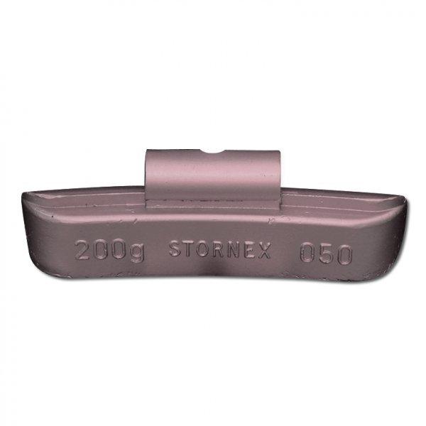 """50STORNEX 200g Pb závaží nákladní bezdušový ocelový disk 20-22,5"""" TRUCK/BUS"""