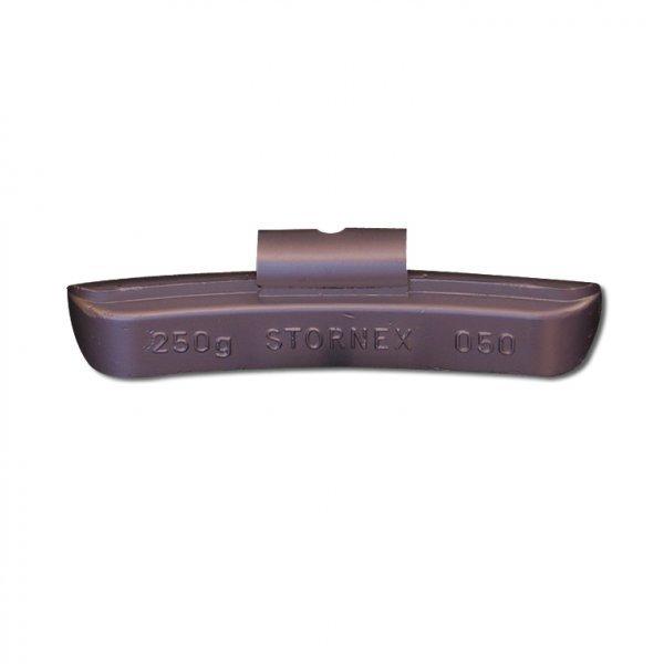 """50STORNEX 250g Pb závaží nákladní bezdušový ocelový disk 20-22,5"""" TRUCK/BUS"""