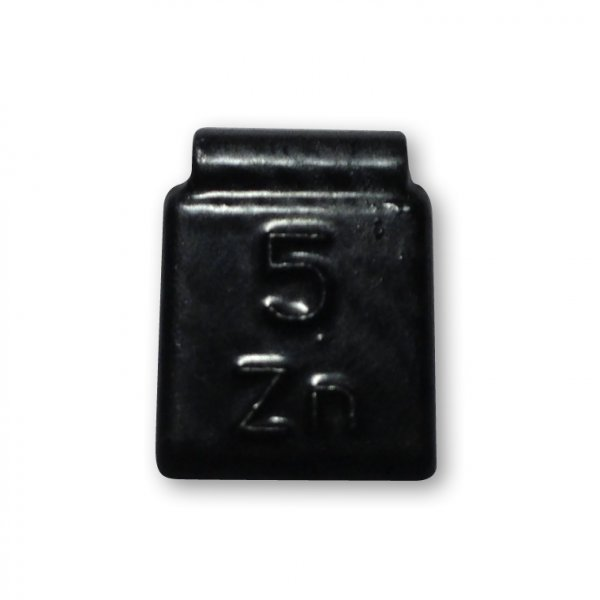 84B-Černá 05g Zn vyvažovací závaží osobní ocel disk-lakované PERFECT