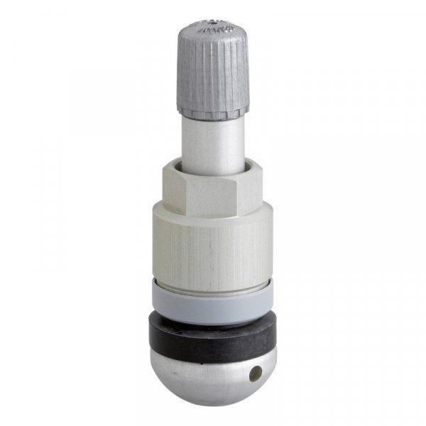 AL-02 sens.it ALU-elox-Stříbrný ventil pro senzor tlaku v pneu ALLIGATOR