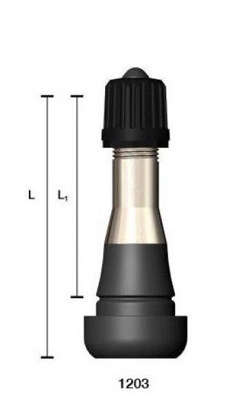 1203W ventil bezdušový pro ocelový disk osobní,dodávkový 14bar Wonder