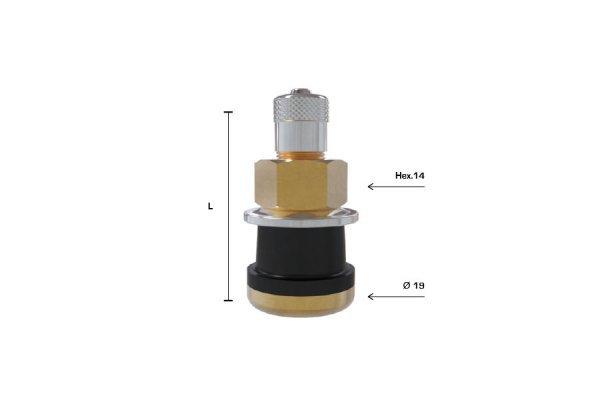 TR501 ventil bezdušový pro nákladní,stavební disk pr.16mm