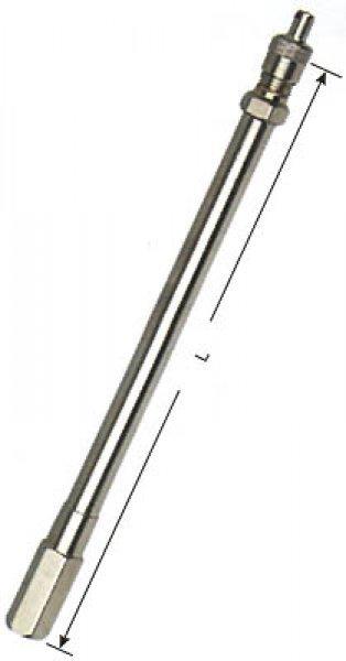 2412 kovové ventilové  prodloužení  MEXL30 L-40mm