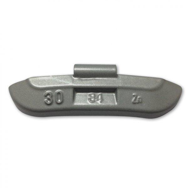 84-Šedá 30g Zn vyvažovací závaží osobní ocel disk-lakované PERFECT