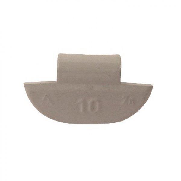 63-Šedá 10g Zn vyvažovací závaží osobní ALU disk-lakované PERFECT